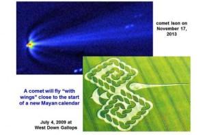 Comet Ison Mayan Calendar