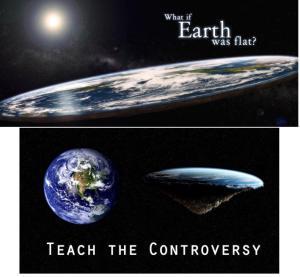 falt earth contro